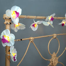orchid garland led battery lights dotcomgiftshop
