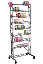 ribbon holders fms mobile ribbon rack sewing tool supply