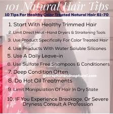 101 natural hair tips 10 tips for healthy color treated hair 61