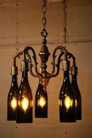lights made out of wine bottles endorsed diy wine bottle chandelier l paper out of www