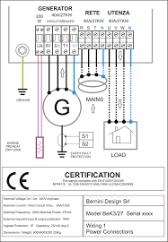 amf control panel circuit diagram pdf genset controller at 230v