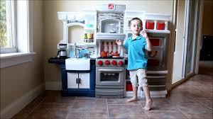 Step Two Play Kitchen by Kids Test The Step2 Grand Luxe Kitchen Youtube