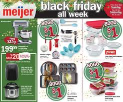 meijer newsroom meijer reveals black friday deals all week
