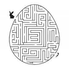 easter bunny carrot maze coloring pages coloring pages