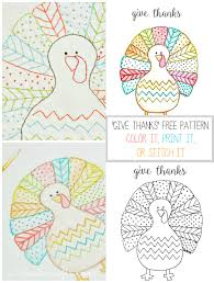 fall turkey printable create
