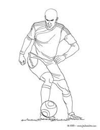 soccer player scoring a penalty coloring soccer coloring