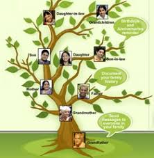 a family tree with help from relatives family members