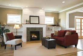 Corner Fireplace Living Room Corner Fireplace Decorating Ideas