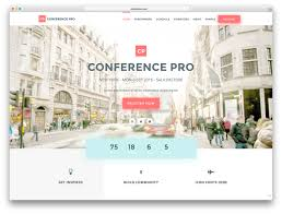 30 awesome wordpress themes for conference and event 2017 colorlib