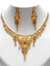 gold plated necklace sets images Gold plated necklace jpg