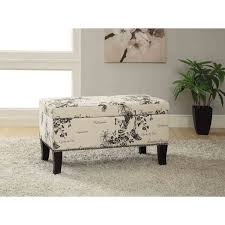 ottoman storage bench coffee table seat furniture footstool foot