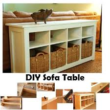 diy sofa table with free plans diy crafts and ideas