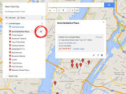 g00gle map how to create a custom travel map with maps my