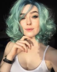 Colorful Hair Dye Ideas 25 Green Hair Color Ideas You Have To See Green Colors Pastels