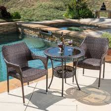 Tall Patio Chairs by Two Person Patio Dining Sets You U0027ll Love Wayfair