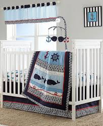 whale of a crib bedding collection bed in a bag