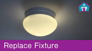 How To Mount A Ceiling Light How To Replace A Ceiling Fixture