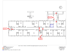 Fire Evacuation Floor Plan Fire Evacuation U0026 Safety Maps The Southern Baptist Theological