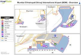 Mumbai Map Bombay Mumbai Chhatrapati Shivaji International Bom Airport