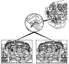 mercedes timing chain how to set the timing chain and crankshaft pulley which notch for