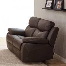 canape relaxation cuir canapé relax électrique 2 places cuir brun esther univers du salon