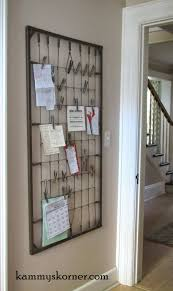 Baby Cribs Decorating Ideas by What A Great Idea Using An Old Crib Spring To Clip Pictures