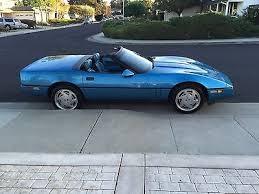 1989 Corvette Interior 1989 Supercharged Nassau Blue Corvette Convertible Roadster Comp