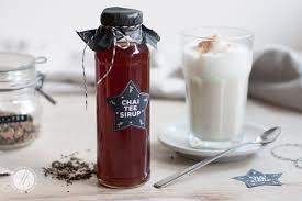 selbstgemachte geschenke aus der k che geschenke aus der küche chai sirup und alle labels als free