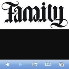 ambigram tattoos 2 word ambigram tattoos family