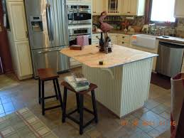 kitchen island overhang particleboard manchester door barn wood kitchen island with