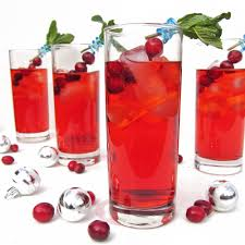 christmas cocktails recipes cranberry gin fizz and merry christmas once upon a cutting board