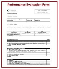 evaluation templates free word templates