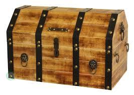 amazon com vintiquewise tm large wooden pirate lockable trunk