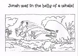 jonah coloring page jonah and the whale coloring pages free