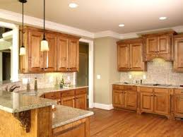 Light Cherry Kitchen Cabinets Paint Colors For Kitchen With Light Oak Cabinets Image Of Kitchen