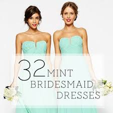 mint green bridesmaid dress 32 mint bridesmaid dresses brides