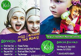 4 kids hair in hoboken