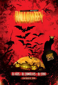 halloween background flyer halloween party flyer template psd by zamolxisart on deviantart
