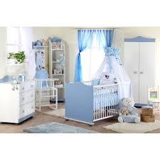 chambre compl te b b avec lit volutif lit bébé prince bleu et blanc évolutif petitechambre fr