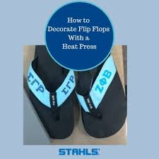 Decorate Flip Flops Decorate Fun Flip Flops For Summer With A Heat Press