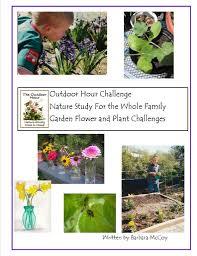 outdoor hour challenge u2013 garden flower part names