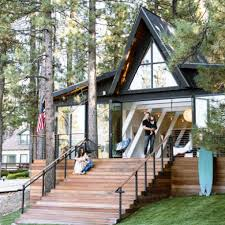 A Frame Home A Frame Cabin Gets An A Makeover Sfgate