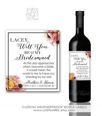 of honor asking ideas 36 best bridesmaid of honor matron of honor proposals