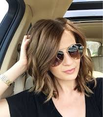 does the swag haircut work for fine hair 27 cute hairstyles for shoulder length hair shoulder length