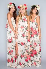 hawaiian themed wedding dresses 50 chic bohemian bridesmaid dresses ideas dress ideas bohemian