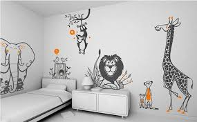 Wall Decals For Nursery Boy Animal Wall Decal For Inspiration Home Designs Animal