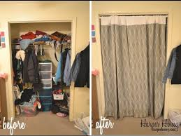 Curtains As Closet Doors Closet Curtains Closet Curtain Ideas For Bedrooms Bedroom