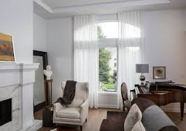 window treatment ideas for arch windows drapery street
