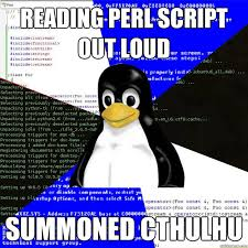 Funny Programming Memes - perl memes all around