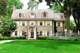Clasic Colonial Homes by Classic Colonial Home Stock Photo Getty Images